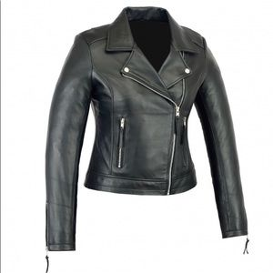 Jackets & Blazers - Women Real Sheep Leather jacket